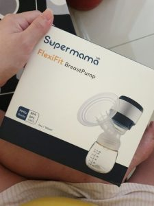 SuperMama FlexiFit Electrical Tubeless Breast Pump photo review